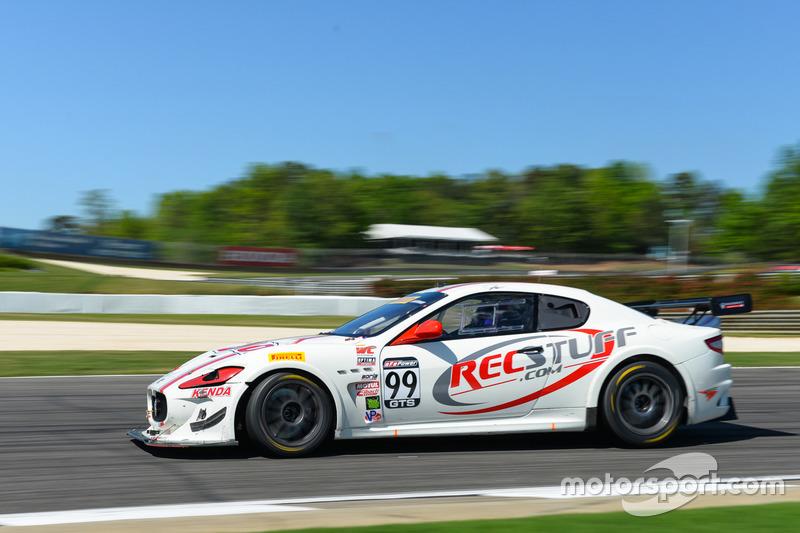 #99 JCR Motorsports, Maserati GranTurismo MC Trofeo: Jeff Courtney