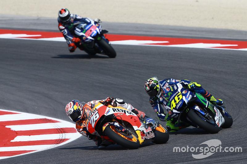 MotoGP Misano: Dani Pedrosa vor Valentino Rossi und Jorge Lorenzo