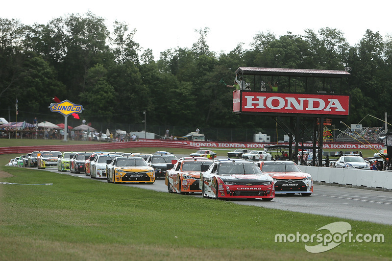 Partenza: Sam Hornish Jr., Richard Childress Racing Chevrolet al comando