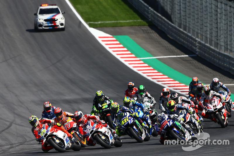 Start: Andrea Iannone, Ducati Team leads
