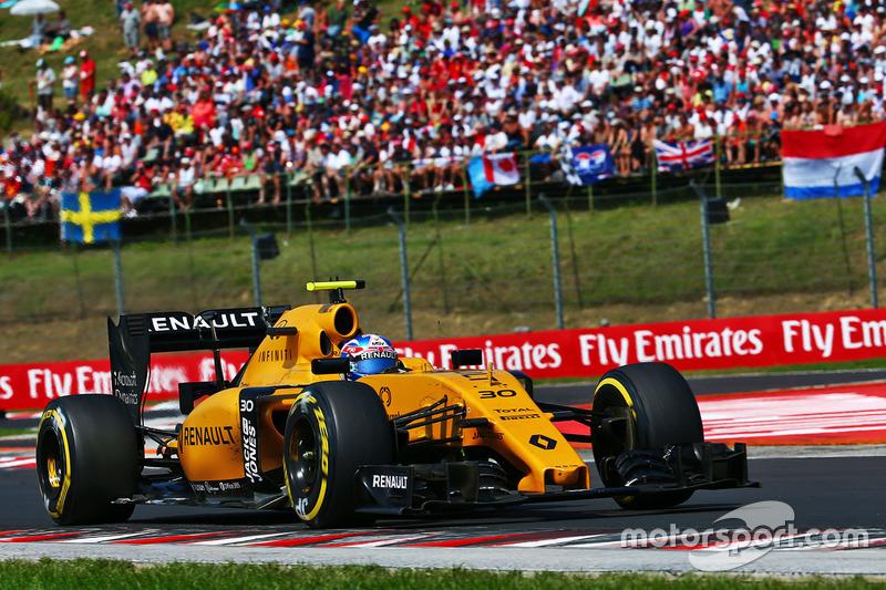 12. Jolyon Palmer, Renault Sport F1 Team RS16