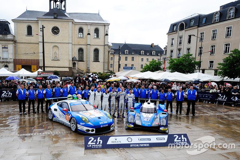 #78 KCMG Porsche 911 RSR: Крістіан Ріід, Вольф Хенцлер, Жоель Каматьяс, #47 KCMG Oreca 05 - Nissan: