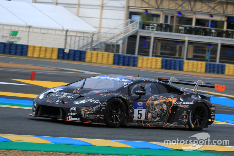 #5 FFF Racing Team by ACM Lamborghini Huracan GT3: Marco Attard, Matt Bell