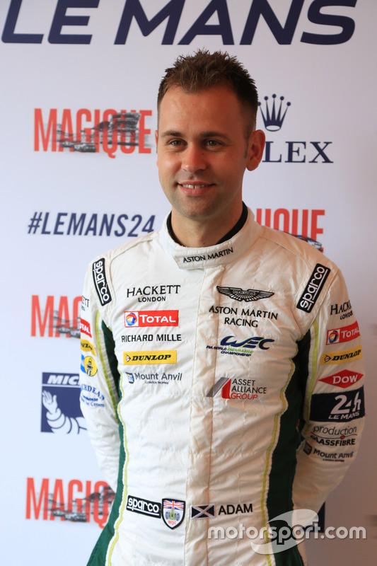 #97 Aston Martin Racing Aston Martin Vantage: Джонатан Адам