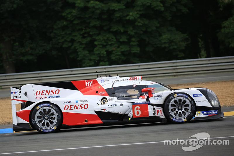 3: #6 Toyota Racing Toyota TS050 Hybrid: Stéphane Sarrazin, Mike Conway, Kamui Kobayashi
