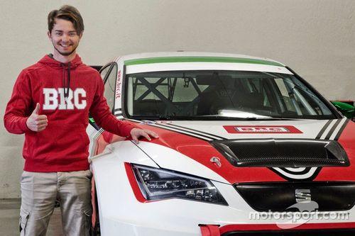 Annuncio Alberto Viberti con BRC Racing Team