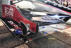 Beschädigung am Auto von Sieger Graham Rahal, Rahal Letterman Lanigan Racing, Honda