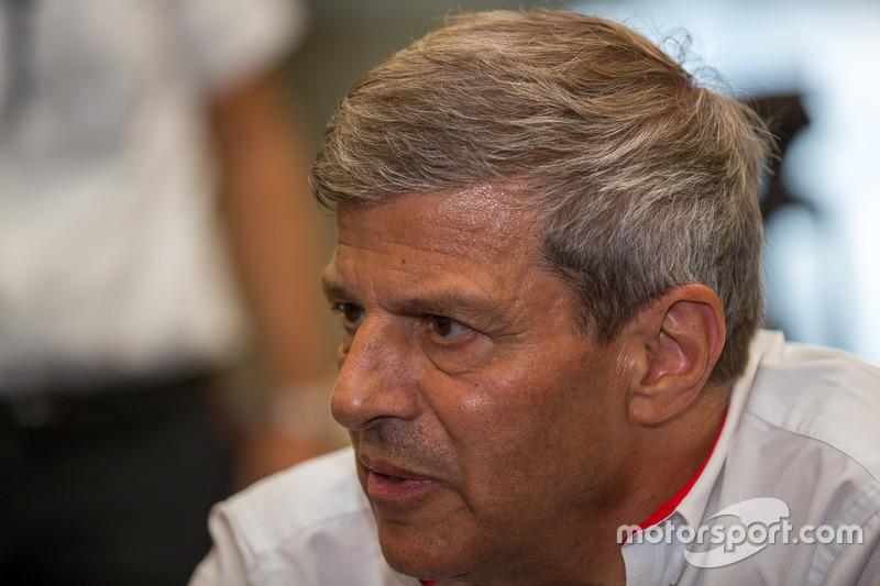 Fritz Enzinger, head of Porsche LMP