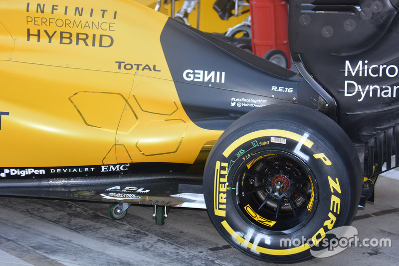 Renault Sport F1 Team RS16, profil
