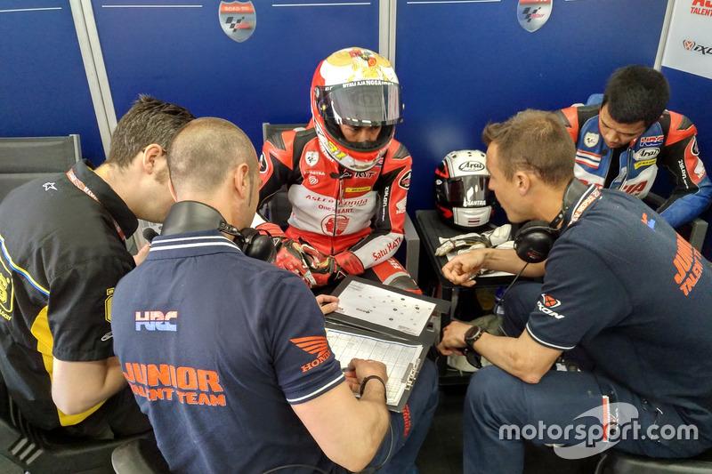 Gerry Salim, Astra Honda Racing Team