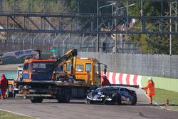 #178 Antonelli Motorsport: Corey Lewis, JC Perez, choque