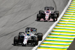 Felipe Massa, Williams FW40, Sergio Perez, Sahara Force India F1 VJM10