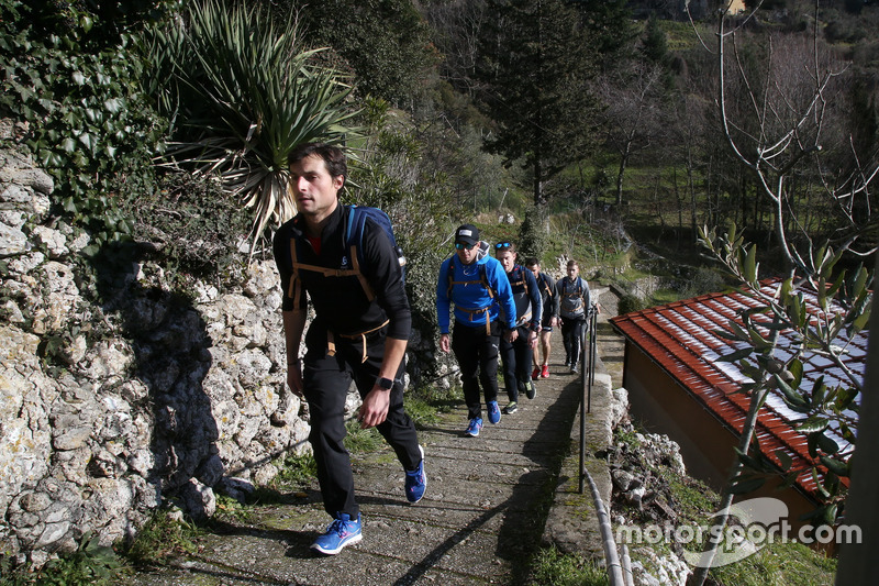 Bruno Spengler, Augusto Farfus ve Marco Wittmann, Hiking
