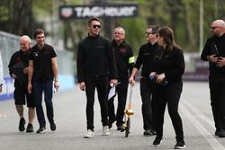 Andre Lotterer, Techeetah, camina por la pista