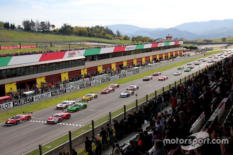 Start Race 2 European Challange