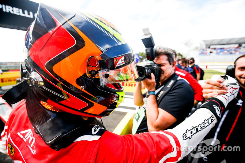 Ilott a remporté sa première victoire en GP3