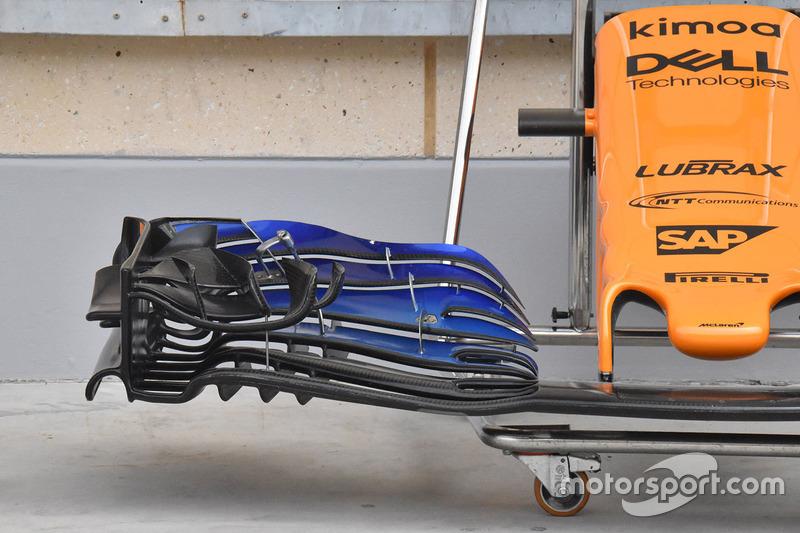 Переднее антикрыло McLaren MCL33