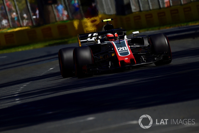 5. Kevin Magnussen, Haas VF-18
