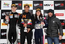 Podium: 1. Manuel Maldonado, Fortec Motorsports; 2. Tristan Charpentier, Fortec Motorsports; 3. Jamie Chadwick, Douglas Motorsport