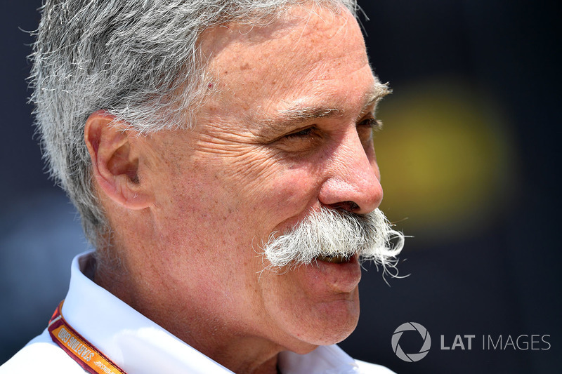 Chase Carey, Chief Executive Officer dan Executive Chairman Formula One Group