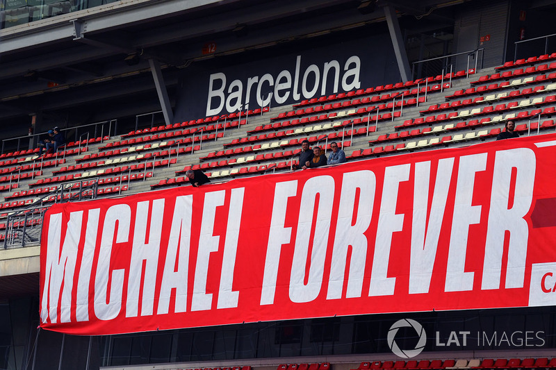Banner for Michael Schumacher
