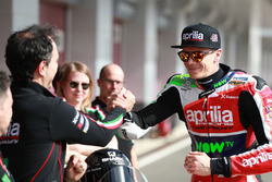 Romano Albesiano, responsable Aprilia Racing, Scott Redding, Aprilia Racing Team Gresini