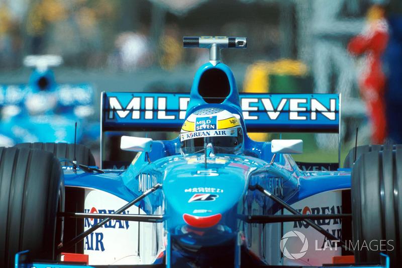 Джанкарло Физикелла, Benetton (16очков, два подиума)