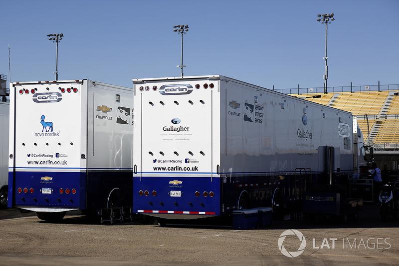 Carlin Racing transportes