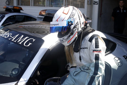 Sébastien Ogier im Mercedes-AMG C63 DTM mit seiner Frau Andrea Kaiser