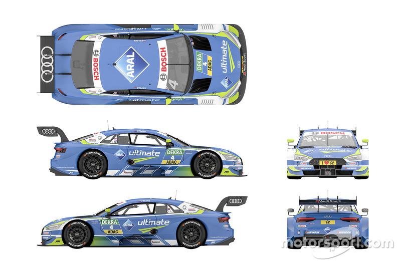 Robin Frijns, Audi Sport Team Abt Sportsline Audi RS5 DTM