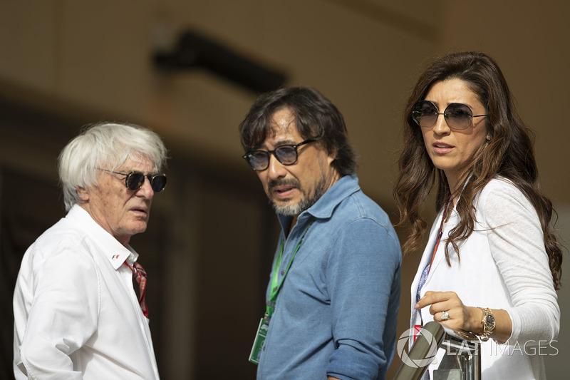 Bernie Ecclestone, and Fabiana Ecclestone
