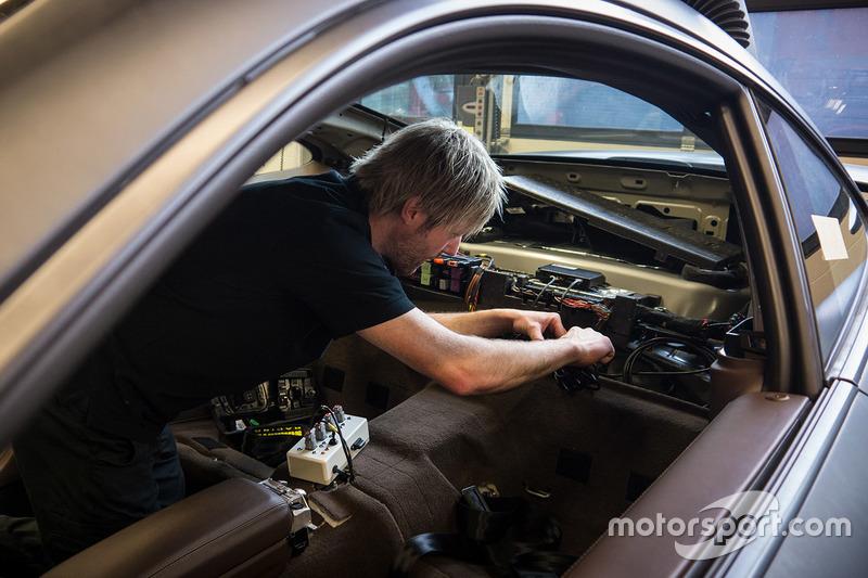 Porsche 911 Turbo, voiture de sécurité du FIA WEC et des 24 Heures du Mans
