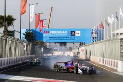 Alex Lynn, DS Virgin Racing, hace trompo