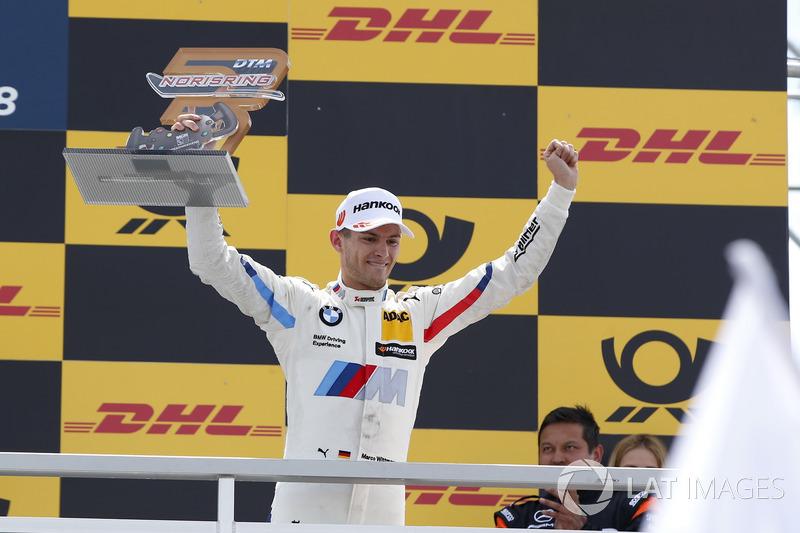 Podium: third place Marco Wittmann, BMW Team RMG