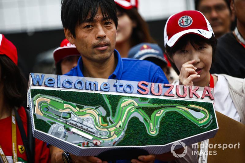Miniatur peta Suzuka
