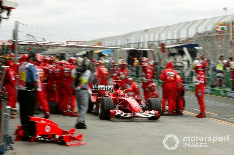 71勝目:2004年オーストラリアGP