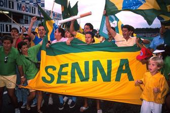 Fans de Ayrton Senna