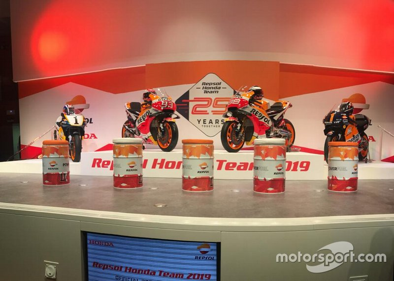 Мотоцикли Мік Дуена, Марка Маркеса, Хорхе Лоренсо та Алекса Крівілла, Honda HRC