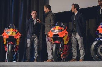 Пол Эспаргаро и Жоан Зарко на презентации KTM Team