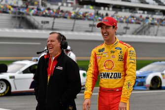 Joey Logano, Team Penske, mit Todd Gordon