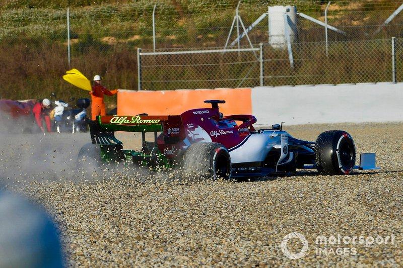 Der Abflug von Kimi Räikkönen