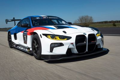 BMW M4 GT3 unveil