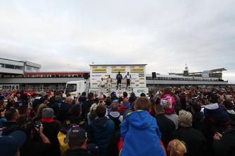 Ricky Collard, WSR BMW, Colin Turkington, WSR BMW and Aiden Moffat, Laser Tools Racing Mercedes A-Class