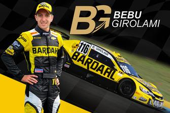 Girolami anunciado na Hot Car