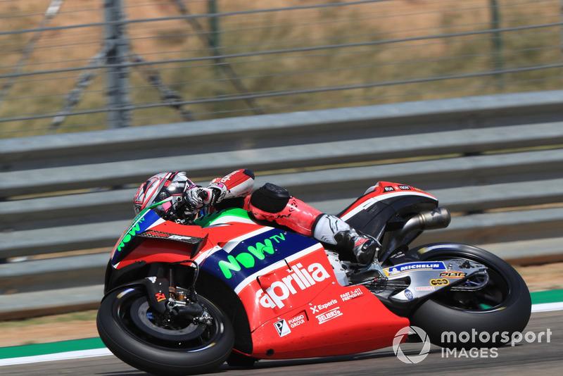 15. Aleix Espargaro, Aprilia Racing Team Gresini