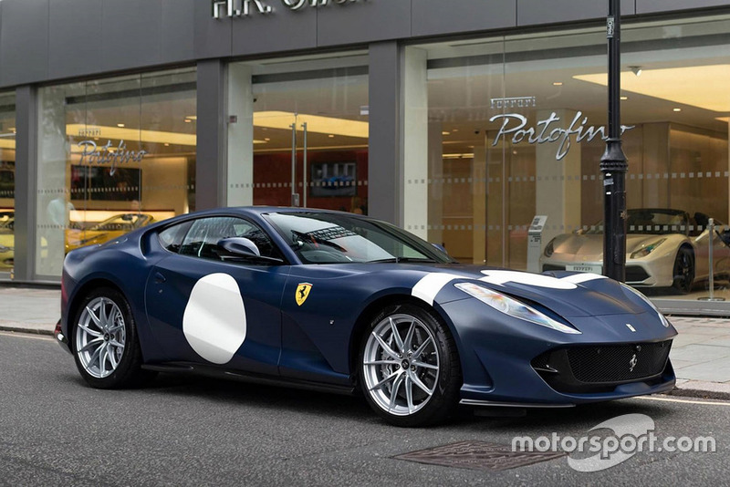 Ferrari 812 Superfast Stirling Moss livery