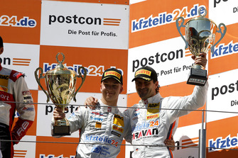 Podium: third place #24 BWT Mücke Motorsport Audi R8 LMS: Mike David Ortmann, Markus Winkelhock
