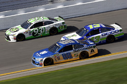 Dale Earnhardt Jr., Hendrick Motorsports Chevrolet, Casey Mears, Germain Racing Chevrolet, Matt DiBenedetto, BK Racing Toyota