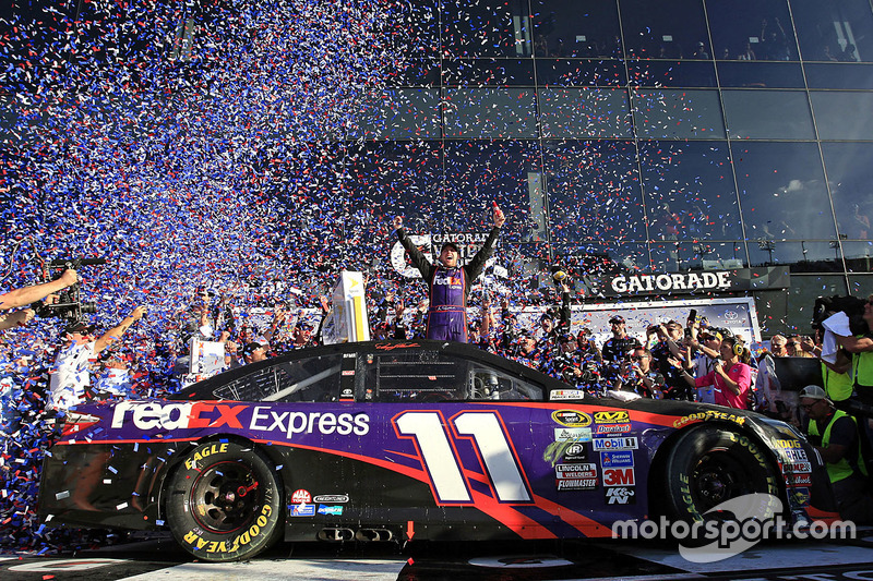 5. Race winner: Denny Hamlin, Joe Gibbs Racing Toyota