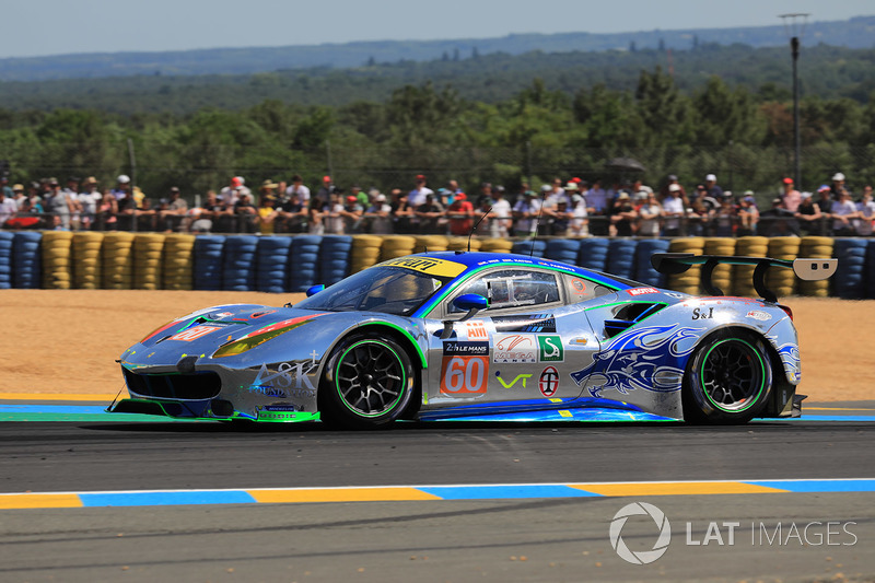 11. LMGTE-Am: #60 Clearwater Racing, Ferrari 488 GTE